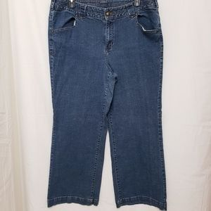 Lane Bryant Denim Jean's 22